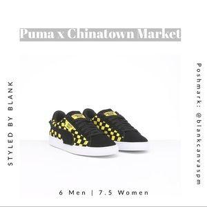 Puma x Chinatown Market Classic Suede Black/Yellow